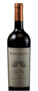 Black Stallion Cabernet Sauvignon 2008, Silverado Trail, Napa Valley Bottle