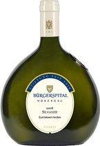 Burgerspital Trocken Silvaner 2010, Qualitätswein, Franken, Estate Btld., Dry Bottle