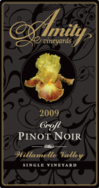 Amity Vineyards Estate Pinot Noir 2008, Willamette Valley, Single Vineyard Bottle