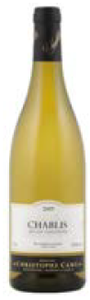 Domaine Christophe Camu Chablis 2009, Ac Bottle