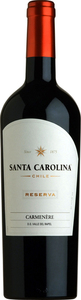 Santa Carolina Carmenère Reserva 2010, Rapel Valley Bottle