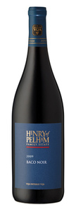 Henry Of Pelham Baco Noir 2009, VQA Ontario Bottle