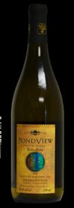 Pondview Bella Terra Barrel Fermented Chardonnay 2010, VQA Four Mile Creek, Niagara Peninsula  Bottle