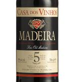 Casa Do Vinhos 5 Year Old, Madeira Bottle