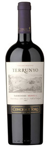 Concha Y Toro Terrunyo Block 27 Carmenère 2008, Peumo Vineyard, Peumo, Cachapoal Valley Bottle