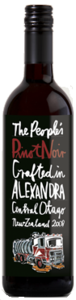 The People's Wine Pinot Noir 2008, Alexandra Bottle