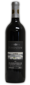 Pondview Cabernet Merlot 2010, Niagara Peninsula  Bottle