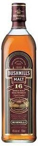 Bushmills 16 Year Old Irish Whiskey Bottle