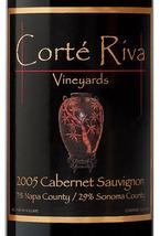 Corté Riva Cabernet Sauvignon 2005, Napa/Sonoma Counties Bottle