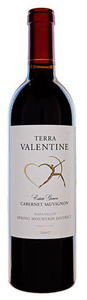 Terra Valentine Spring Mountain District Cabernet Sauvignon 2007, Spring Mountain District, Napa Valley Bottle