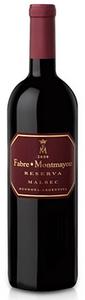 Fabre Montmayou Reserva Malbec 2009, Mendoza Bottle
