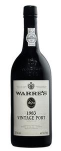 Warre's Vintage Port 1983 Bottle
