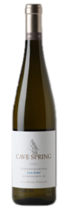 Cave Spring Estate Bottled Gewürztraminer 2010, VQA Beamsville Bench, Niagara Peninsula, Cave Spring Vineyard Bottle
