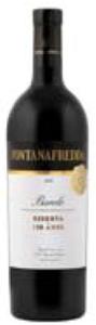 Fontanafredda Reserva Barolo 2005, Docg Bottle
