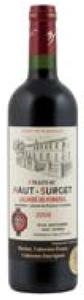 Château Haut Surget 2009, Ac Lalande De Pomerol Bottle