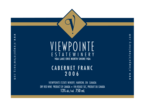 Viewpointe Cabernet Franc 2007, Lake Erie North Shore  Bottle