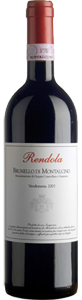 Rendola Brunello Di Montalcino 2004, Docg Bottle