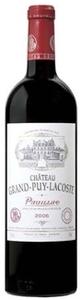 Château Grand Puy Lacoste 2007, Ac Pauillac Bottle