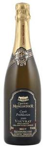 Château Moncontour Cuvée Prédilection Brut Vouvray 2009, Ac, Loire Valley, France, Méthode Traditionnelle Bottle