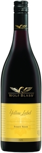 Wolf Blass Yellow Label Pinot Noir 2010, Victoria, Southeastern Australia Bottle