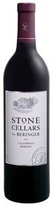 Beringer Stone Cellars Merlot 2009, California Bottle