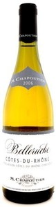 Chapoutier Belleruche Blanc 2010 Bottle