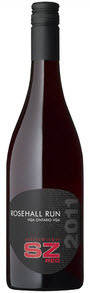 Rosehall Run 'sz' Sullyzwicker Red 2011, Ontario  Bottle
