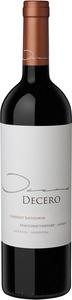 Decero Cabernet Sauvignon 2009, Remolinos Vineyard, Agrelo, Mendoza Bottle
