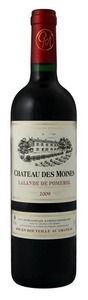 Château Des Moines 2009, Lalande De Pomerol Bottle