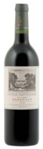 Château Sainte Barbe Les Arglies 2008, Bordeaux Bottle