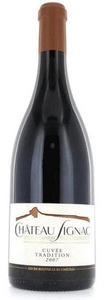 Château Signac Cuvée Tradition Chusclan Côtes Du Rhône Villages 2009, Rhone Bottle