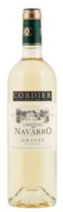 Château De Navarro Blanc 2010, Graves Bottle