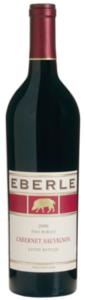 Eberle Cabernet Sauvignon 2007, Paso Robles Bottle