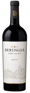 Beringer Merlot 2009, Napa Valley Bottle
