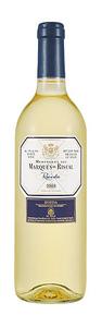 Marqués De Riscal 2010, Rueda Bottle