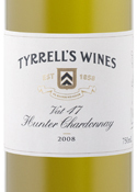 Tyrrell's Vat 47 Hunter Chardonnay 2008, Hunter Valley Bottle