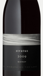 Stratus Gamay 2009, Niagara On The Lake Bottle