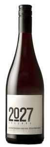 2027 Cellars Pinot Noir Queenston Road Vineyard 2010, St Davids Bench, Niagara Peninsula Bottle