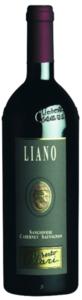 Umberto Cesari Liano Sangiovese/Cabernet Sauvignon 2008, Igt Rubicone Bottle