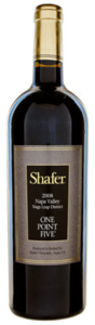 Shafer One Point Five Cabernet Sauvignon 2008, Stags Leap District, Napa Valley Bottle