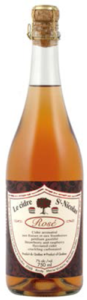 St Nicolas Rosé Crackling Cider, Quebec Bottle