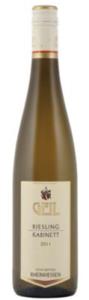 Geil Bechtheimer Rosengarten Riesling Kabinett 2011, Prädikatswein, Rheinhessen Bottle