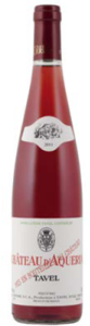 Château D'aquéria Tavel Rosé 2011, Ac (375ml) Bottle