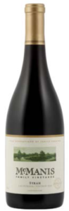 Mcmanis Family Vineyards Syrah 2010, California Bottle