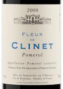 Fleur De Clinet 2008 Pomerol 2008 Bottle