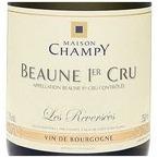 Maison Champy Les Reversées Beaune 1er Cru 2006, Ac, Estate Btld. Bottle