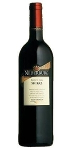 Nederburg Shiraz 2010, Western Cape Bottle