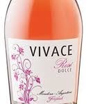 Vivace Rose Dolce, Mendoza Bottle