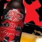 Crispin Stagger Lee Rye Whiskey Cask Aged Cider Bottle