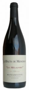 Les Hauts De Montfort Les Mégalithes 2009, Minervois Bottle